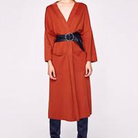 Kimono Cardigan Outer Zara Woman Original not stradivarius bershka