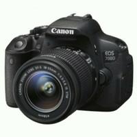 Kamera DSLR CANON EOS 700D + LENSA KIT + TAS + FREE 8GB