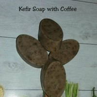 Sabun Kefir varian Coffee