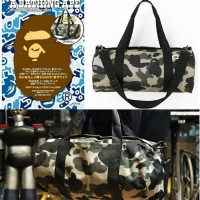 Bape Duffle Bag Japan Magazine