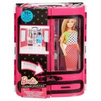 Boneka Barbie Mattel Fashionistas Ultimate Closet - Pink