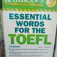 Barrons Essential Words For The Toefl 7th Edition (Original)