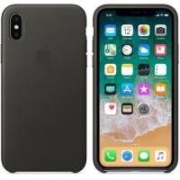 ORIGINAL  iPhone X Leather Case Casing Charcoal Grey Gray BNIB 97db99c985