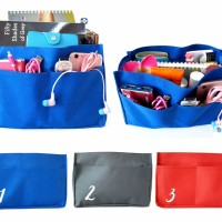 Jual Korea Dual Bag - Tas Organizer Bag in Bag Murah