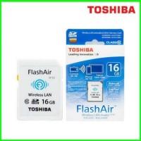 WIFI SDHC / SD Card Toshiba FlashAir 16GB Class 10 class10 eye-fi