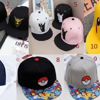Jual Topi Snapback Pokemon Import Excellent Quality Murah