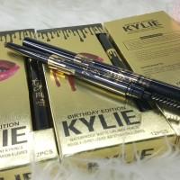 KYLIE EYEBROW - 2 in 1 Waterproof Pensil Alis+Sikat Like Etude Drawing