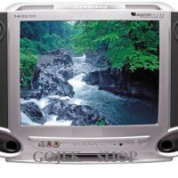 TV Multimax 14FA46 TV CRT Tabung 14 inch Layar Semi Flat