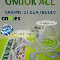 Headset Handsfree Earphone Samsung ori J1 J2 J3 J5 J7 Original 100%