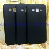 CASE MATTE SAMSUNG GRAND 2 G7106/Soft Black Anti Minyak