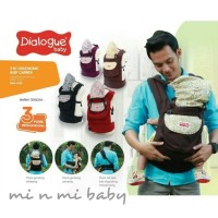 DIALOGUE BABY CARRIER/ GENDONGAN BAYI RANSEL ERGO 3IN1