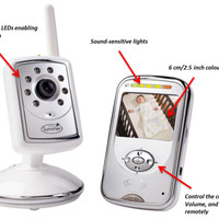 Baby Monitor Summer Infant Slim & Secure Plus Digital Video T1310