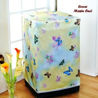 Cover Mesin Cuci 1 Tabung Buka Atas, Sarung, Penutup, Laundry
