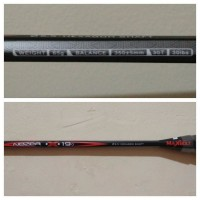 Raket Badminton / Bulutangkis MAXBOLT NEZER X 19 + Sena Terlaris