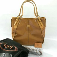 Tas Tods Sacca G Line Piccola Med Yellow & Orange & Red