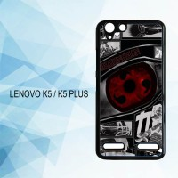 Casing Hardcase HP Lenovo K5 K5 Plus Anime Naruto Sharingan X4954