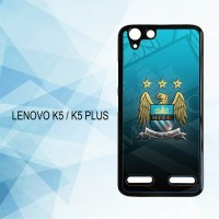 Casing Hardcase HP Lenovo K5 K5 Plus Manchester City X4594