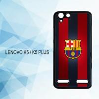 Casing Hardcase HP Lenovo K5 K5 Plus Fc Barcelona X4919