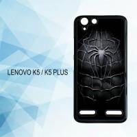 Casing Hardcase HP Lenovo K5 K5 Plus Spiderman Black X4957