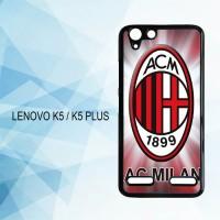 Casing Hardcase HP Lenovo K5 K5 Plus Ac Milan X4181