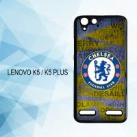 Casing Hardcase HP Lenovo K5 K5 Plus Chelsea Logo X4261