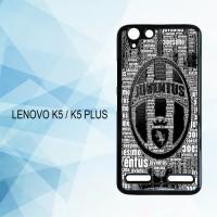 Casing Hardcase HP Lenovo K5 K5 Plus Juventus FC X4216