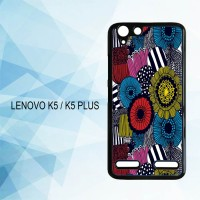 Casing Hardcase HP Lenovo K5 K5 Plus Marimekko Fabric  X4482