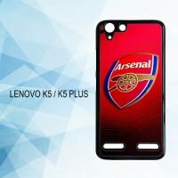 Casing Hardcase HP Lenovo K5 K5 Plus Arsenal FC  X4565