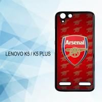 Casing Hardcase HP Lenovo K5 K5 Plus Arsenal FC X4183