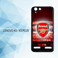 Casing Hardcase HP Lenovo K5 K5 Plus Arsenal Fc X4933