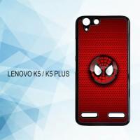 Casing Hardcase HP Lenovo K5 K5 Plus Spiderman Logo X4514