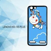 Casing Hardcase HP Lenovo K5 K5 Plus doraemon X4293