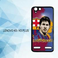 Casing Hardcase HP Lenovo K5 K5 Plus Lionel Messi X4218