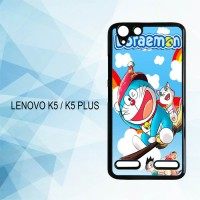 Casing Hardcase HP Lenovo K5 K5 Plus Doraemon Wallpaper X4292