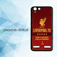 Casing Hardcase HP Lenovo K5 K5 Plus Liverpool FC X4592