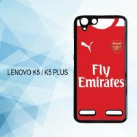 Casing Hardcase HP Lenovo K5 K5 Plus Arsenal Fc X4285