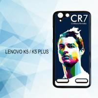Casing Hardcase HP Lenovo K5 K5 Plus Cristiano Ronaldo X4197