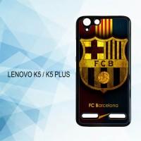 Casing Hardcase HP Lenovo K5 K5 Plus FC Barcelona X4370