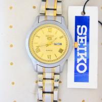 jam tangan anti air wanita rantai analog seiko mirage alfa guess gucci