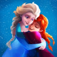3D Wallpaper - elsa-anna-frozen-2349