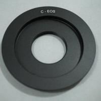 Turun Harga Macro Lens Adapter Cctv C Mount To Canon Eos Dslr C - Ef .