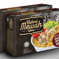 Jual Bakmi Mewah Rasa dengan Daging Ayam Asli Murah