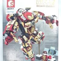 Sembo Block MK 42 | IRON MAN HulkBuster 2 in 1 | Brick MK42