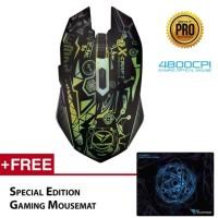 Alcatroz Mouse Gaming X-craft Pro Quantum Z7000
