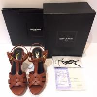 READY YSL Tribute sepatu wanita 10cm - Mirror
