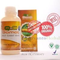 Obat Radang Tenggorokan Asli-Ampuh-Herbal QnC Jelly Gamat Emas