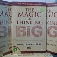 Buku The Magic of Thinking Big David J Schwartz Ph.D.