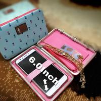 Dompet wanita Lady bunga tulip jumbo/Pidanlu/HP Android cewek korea