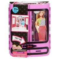 Boneka Barbie Mattel Fashionistas Ultimate Closet - Purple
