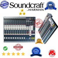 Mixing Mixer soundcraft Efx12 by harman professional 12 CH